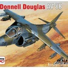 Maquetas: AEROPLAST A-042 MCDONNELL-DOUGLAS AV-8B HARRIER II 1/72. Lote 129098259