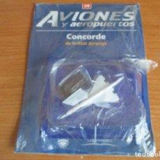 Maquetas: RBA: AVIONES Y AEROPUERTOS - MAQUETA DEL MODELO DE AVION CONCORDE. Lote 129492107