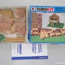 Maquetas: EUROKIT - CONSTRUCCIONES DE OBRA EN MINIATURA - MODELO 103. Lote 129679707