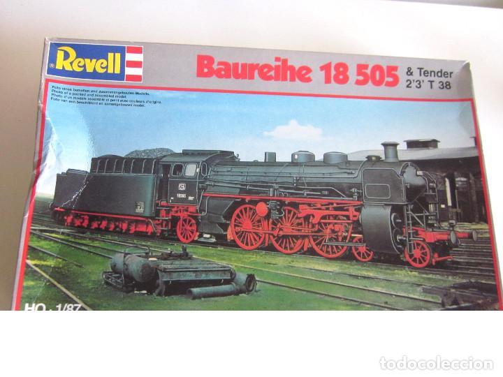 Maquetas: Locomotora Revell Baureihe 18 505 Tender 2'3 T 38 sin abrir plásticos con Manual de montaje - Foto 3 - 129695783