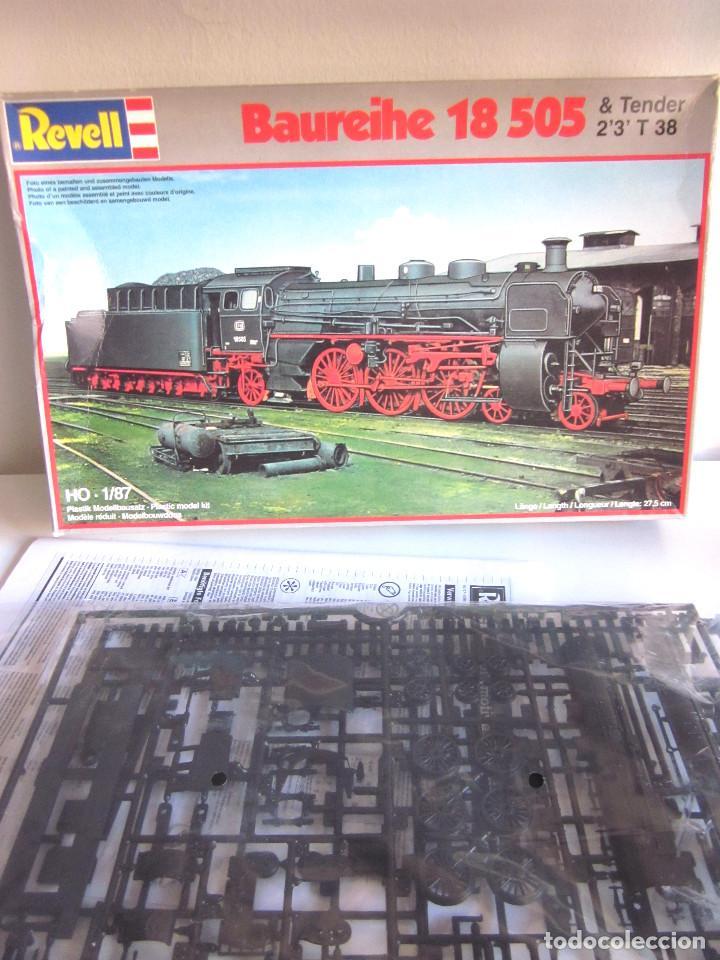 Maquetas: Locomotora Revell Baureihe 18 505 Tender 2'3 T 38 sin abrir plásticos con Manual de montaje - Foto 4 - 129695783