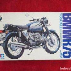 Maquetas: KIT TAMIYA - MOTOCICLETA BMW R 75/5 - ESCALA 1/6 - 1972 - NUEVA A ESTRENAR - UNICA TC - MOTO. Lote 130026731