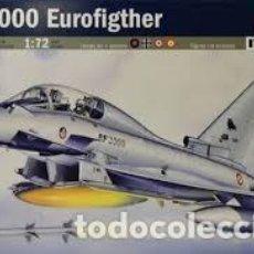 Maquetas: ITALERI - EF-2000 EUROFIGHTER 099 1/72. Lote 130526382