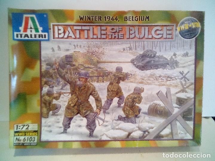 DIORAMA ITALERI BATTLE OF BULGE 1/72 (Spielzeug - Modellbau und Funksteuerung - Modelle - Militär)