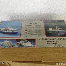 Maquetas: MAQUETA NAVAL BILLING BOATS 44329. US COAST GUARD Nº 100 PRECINTADA EN SU CAJA. Lote 130693134