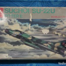 Maquetas: MAQUETA AVION SUCHOI SU-22U FITTER E DE HOBBY CRAFT ESCALA 1:72. Lote 130715134