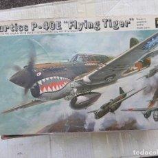 Maquetas: MAQUETA AVION CURTISS P40 E FLYING TIGERDE REVELL A ESCALA 1/32 PERFECTO ESTADO. Lote 130989440