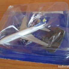 Maquetas: RBA: AVIONES Y AEROPUERTOS - MAQUETA DEL MODELO DE AVION LOCKHEED L-1011 TRISTAR CALEDONIAN. Lote 196368451