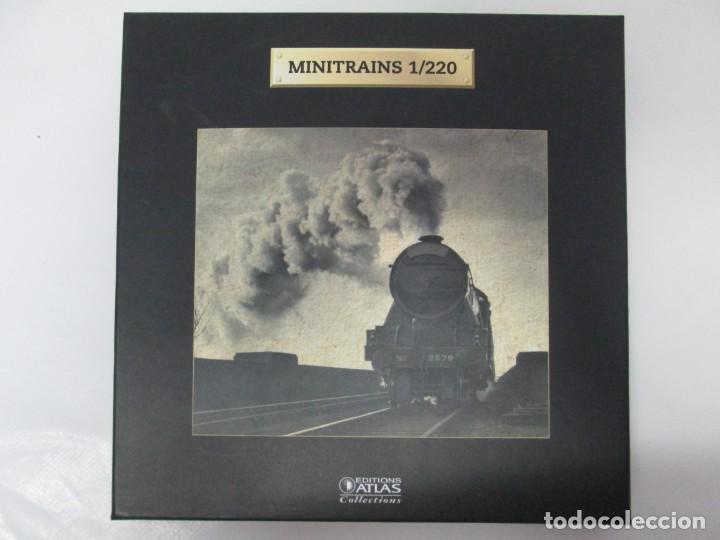 Maquetas: MINITRAINS 1/220. EDITIONS ATLAS COLLECTIONS. TREN EN MINIATURA. PLANETA DE AGOSTINI. 2011. VER FOTO - Foto 2 - 131397642