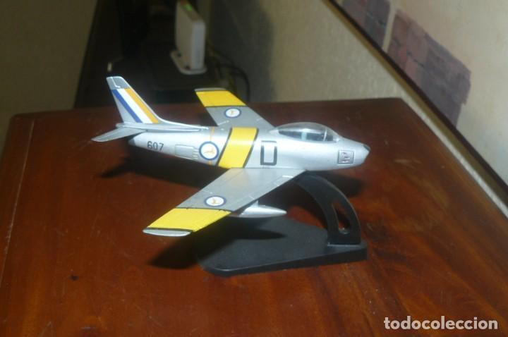 Maquetas: Juguete- Avión de Combate Caza - Metal - Excelente Pieza - Foto 3 - 132157446