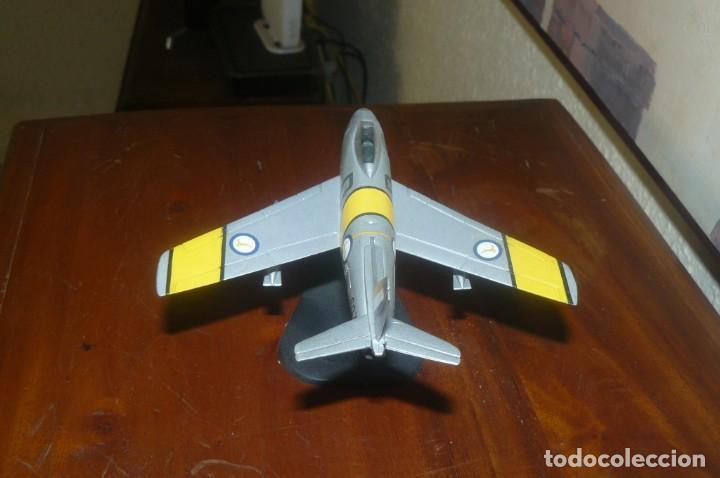 Maquetas: Juguete- Avión de Combate Caza - Metal - Excelente Pieza - Foto 4 - 132157446