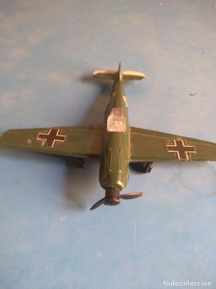 Maquetas: Avión de juguete metal ,sin marca años 70 - Foto 2 - 132280370