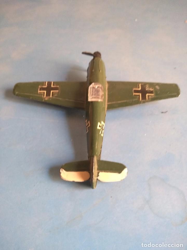 Maquetas: Avión de juguete metal ,sin marca años 70 - Foto 3 - 132280370