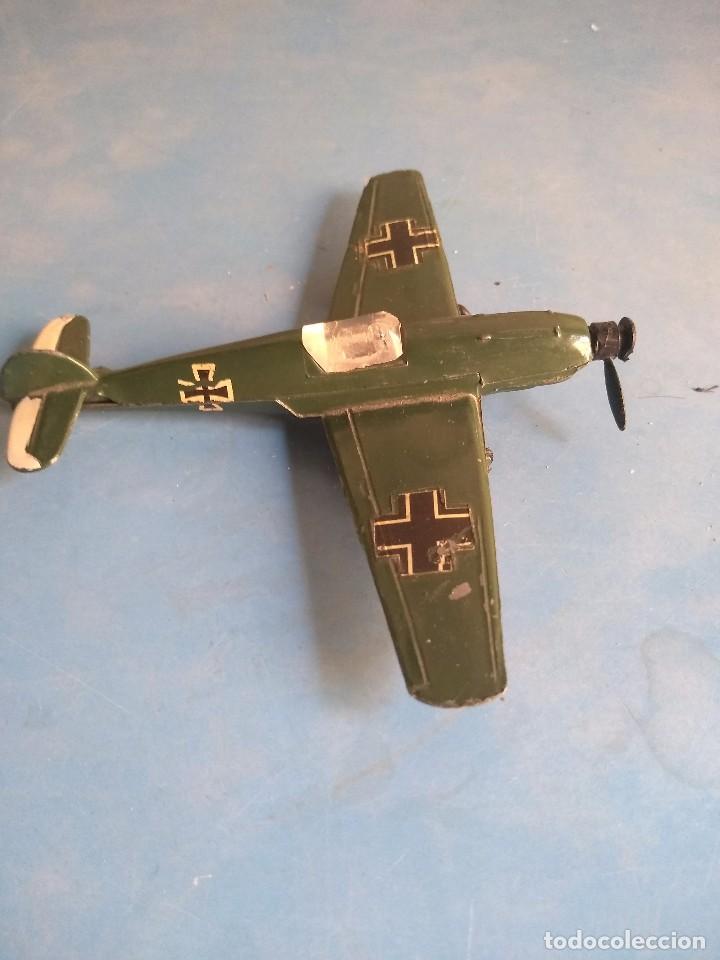Maquetas: Avión de juguete metal ,sin marca años 70 - Foto 4 - 132280370