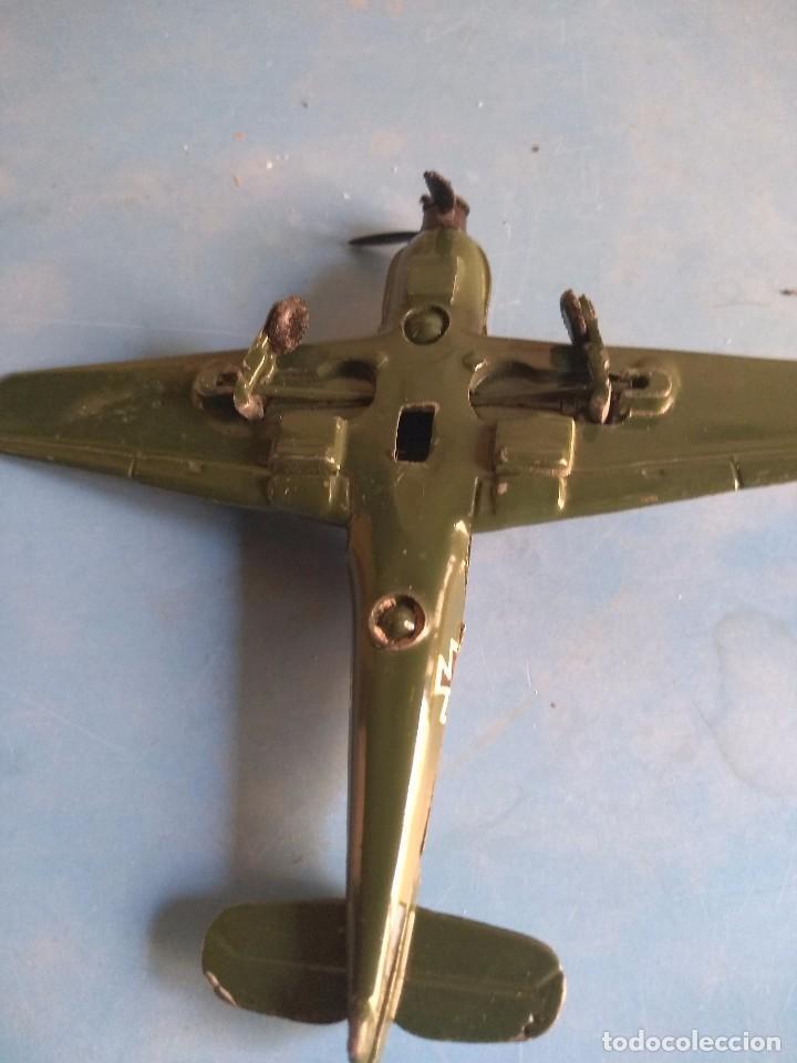 Maquetas: Avión de juguete metal ,sin marca años 70 - Foto 5 - 132280370