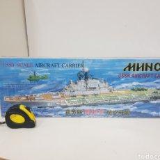 Maquettes: SS A AIRCRAFT CARRIER BUQUE DE GUERRA DE LA MARCA TRUMPETER ESCALA 1 550 CAJA: 62 X 11 CM A. Lote 132281478