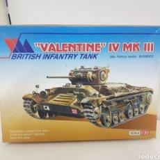 Maquetas: VALENTÍN 4 MK3 BRITISH INFANTRY TANK ESCALA 1/35. Lote 132285679