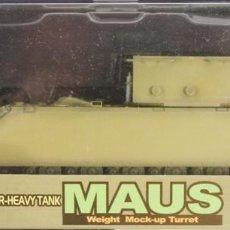 Maquetas: MAQUETA TANQUE PESADO MAUS, REF. 60156, 1/72, DRAGÓN ARMOR. Lote 140802632