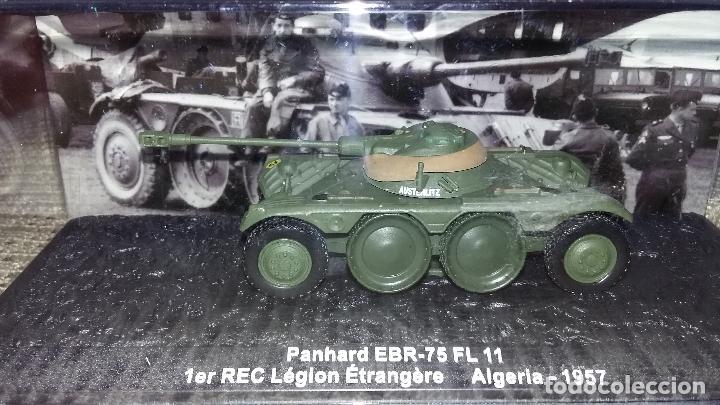 AUTOAMETRALLADORA PANHARD EBR 75. CARRO DE COMBATE ALTAYA 1/72 (Juguetes - Modelismo y Radiocontrol - Maquetas - Militar)