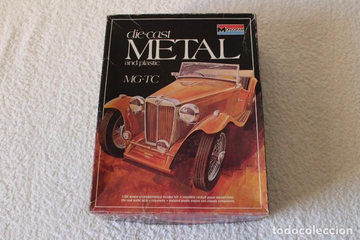 MONOGRAM. ESCALA 1/24 - MG-TC (PLASTICO Y METAL) - MADE IN USA 1977, (Juguetes - Modelismo y Radiocontrol - Maquetas - Coches y Motos)
