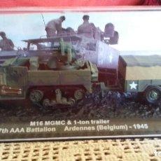 Maquetas: M 16 GMC + 1 TON TRAILER. CARRO DE COMBATE ALTAYA 1/72. Lote 135681230