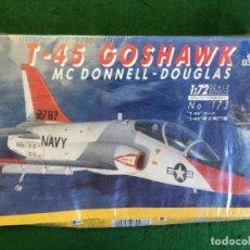 Maquetas: MAQUETA AVION T-45 GOSHAWK MC DONNELL- DOUGLAS - ITALERI - 1:72. Lote 132748582