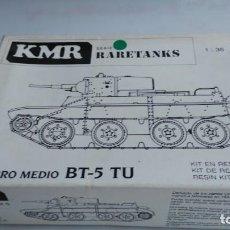 Maquetas: ANTIGUA MAQUETA KMR CARRO MEDIO BT-5. Lote 133081898