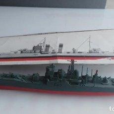 Maquetas - ANTIGUA MAQUETA BARCO AIRFIX HMS TORQUAY - 133102206