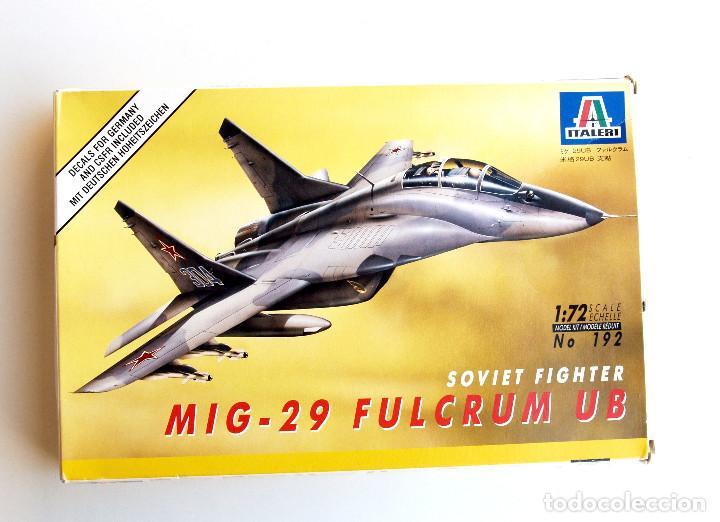 ITALERI • MIKOYAN MIG-29 UB ' FULCRUM ' BIPLAZA • MAQUETA ESCALA 1/72 (Juguetes - Modelismo y Radio Control - Maquetas - Aviones y Helicópteros)