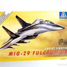 Maquetas: ITALERI • MIKOYAN MIG-29 UB ' FULCRUM ' BIPLAZA • MAQUETA ESCALA 1/72. Lote 133162458