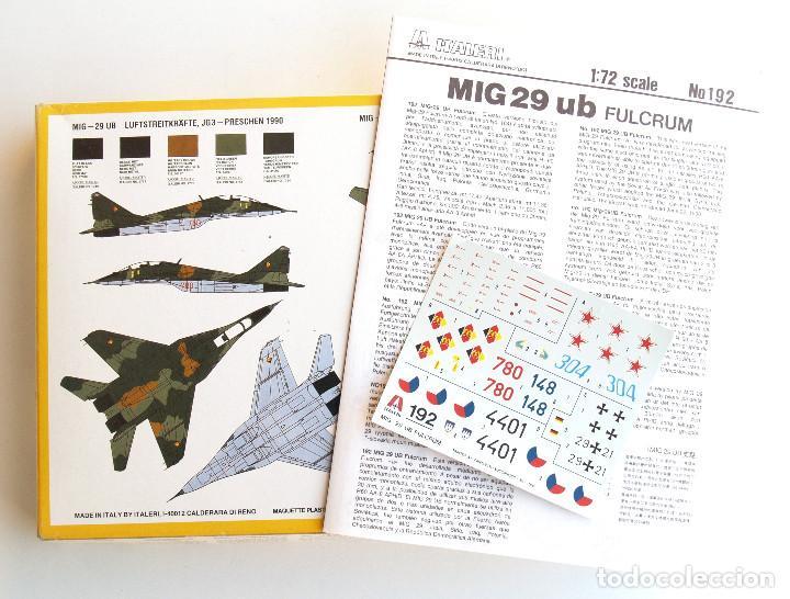 Maquetas: ITALERI • Mikoyan MiG-29 UB FULCRUM Biplaza • Maqueta Escala 1/72 - Foto 2 - 133162458