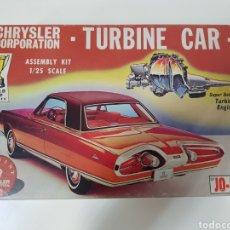 Maquetas: 1964 - JO-HAN CHRYSLER TURBINE CAR - ESCALA 1:25. Lote 133379174