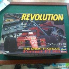 Maquetas: FERRARI REVOLUTION THE GREAT F1 CIRCUS --HASEGAWA--1/24. Lote 133523950