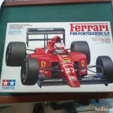 Maquetas: FERRARI F189 PORTUGUESE GP -- TAMIYA 1/20 . Lote 133524870