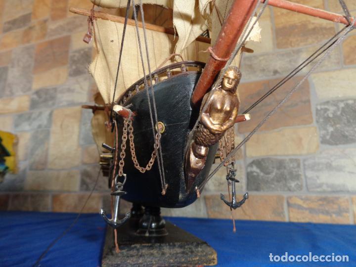 Maquetas: MAQUETA BARCO DE MADERA FRAGATA ESPAÑOLA SIGLO XVI VER FOTOS Y DESCRIPCION! SM - Foto 14 - 133588778