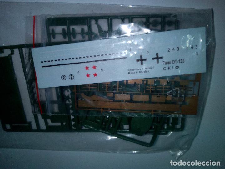 Maquetas: -CARRO DE COMBATE OT -133-LANZALLAMAS-CON FOTOGRABADOS -1/72- RUSO - Foto 6 - 133696618