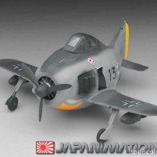 Maquetas: FOCKE WULF FW-190 A -SERIE EGGPLANE- HASEHAWA-RARO. Lote 133697154