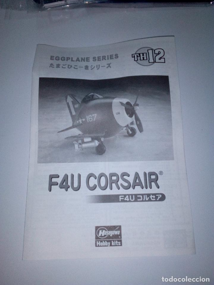 Maquetas: F4U CORSAIR-SERIE EGGPLANE- HASEHAWA-RARO-SIN CAJA - Foto 2 - 133697614