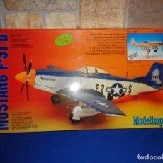 Maquetas: MAQUETA - MUSTANG P-51 D ESCALA 1/20 MAQUETA ESTATICA MODELIMPORT VER FOTOS Y DESCRIPCION! SM. Lote 133951242