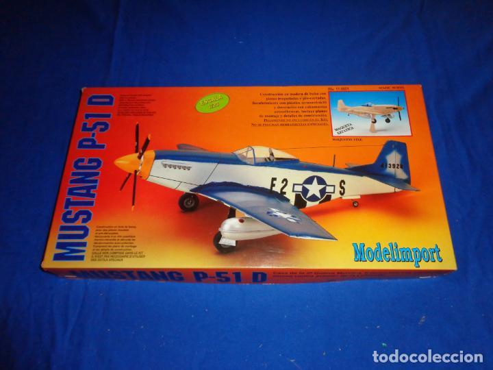 Maquetas: MAQUETA - MUSTANG P-51 D ESCALA 1/20 MAQUETA ESTATICA MODELIMPORT VER FOTOS Y DESCRIPCION! SM - Foto 2 - 133951242