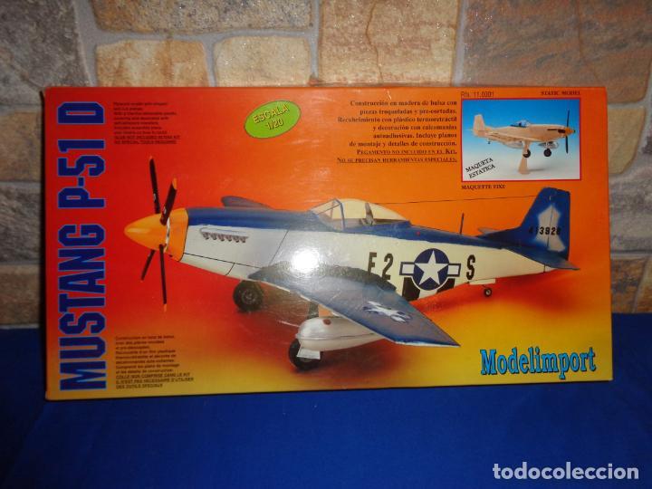 Maquetas: MAQUETA - MUSTANG P-51 D ESCALA 1/20 MAQUETA ESTATICA MODELIMPORT VER FOTOS Y DESCRIPCION! SM - Foto 3 - 133951242