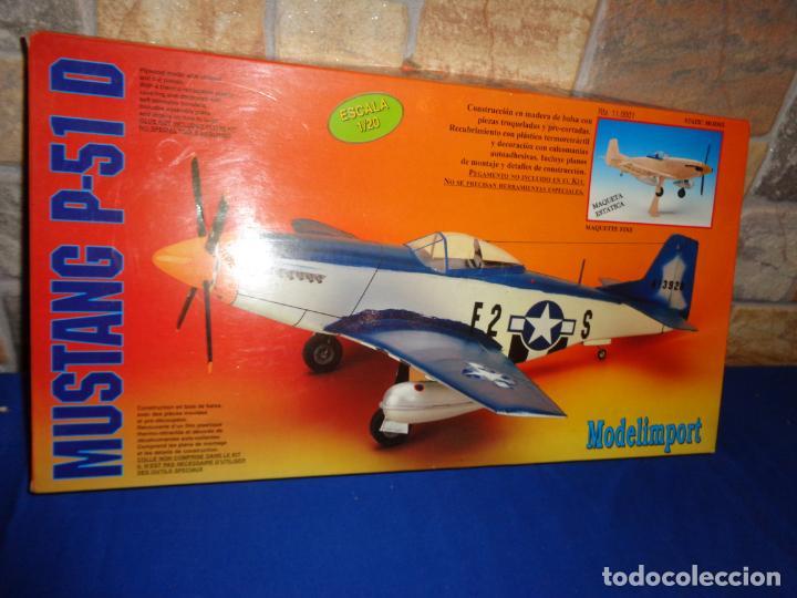 Maquetas: MAQUETA - MUSTANG P-51 D ESCALA 1/20 MAQUETA ESTATICA MODELIMPORT VER FOTOS Y DESCRIPCION! SM - Foto 8 - 133951242