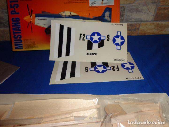 Maquetas: MAQUETA - MUSTANG P-51 D ESCALA 1/20 MAQUETA ESTATICA MODELIMPORT VER FOTOS Y DESCRIPCION! SM - Foto 11 - 133951242