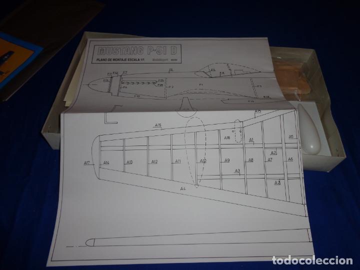 Maquetas: MAQUETA - MUSTANG P-51 D ESCALA 1/20 MAQUETA ESTATICA MODELIMPORT VER FOTOS Y DESCRIPCION! SM - Foto 15 - 133951242