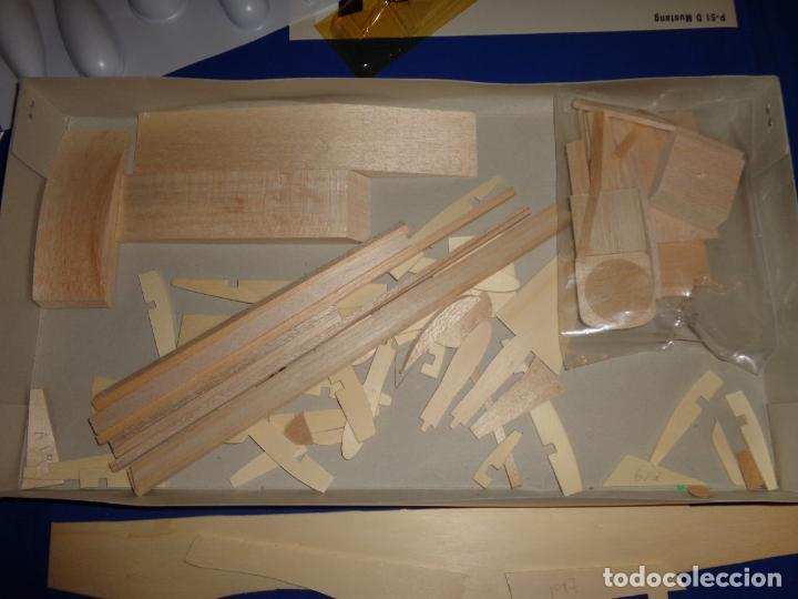 Maquetas: MAQUETA - MUSTANG P-51 D ESCALA 1/20 MAQUETA ESTATICA MODELIMPORT VER FOTOS Y DESCRIPCION! SM - Foto 19 - 133951242