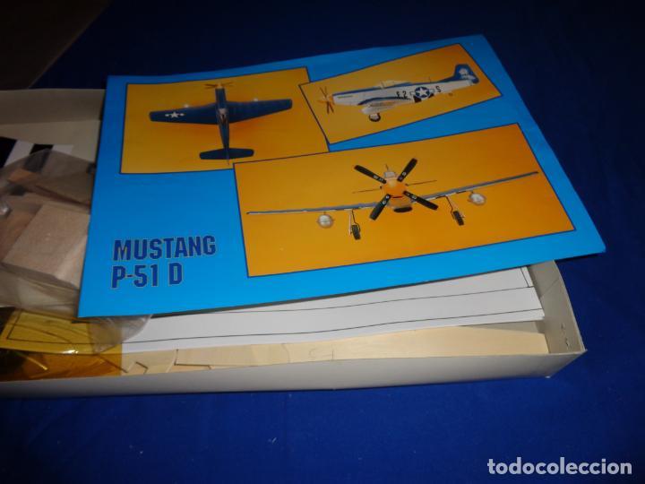 Maquetas: MAQUETA - MUSTANG P-51 D ESCALA 1/20 MAQUETA ESTATICA MODELIMPORT VER FOTOS Y DESCRIPCION! SM - Foto 20 - 133951242