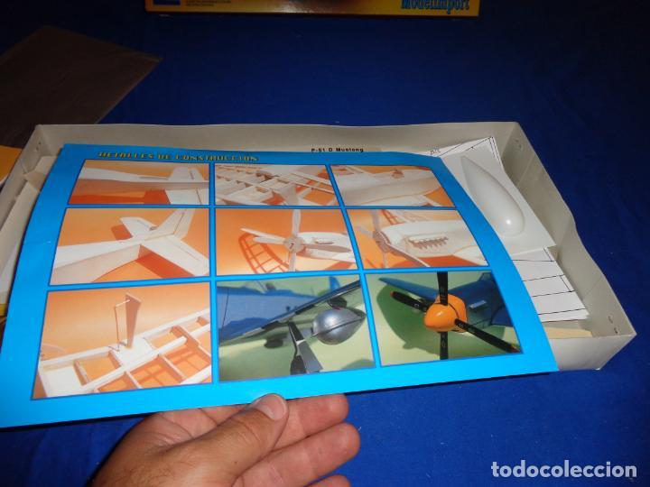 Maquetas: MAQUETA - MUSTANG P-51 D ESCALA 1/20 MAQUETA ESTATICA MODELIMPORT VER FOTOS Y DESCRIPCION! SM - Foto 21 - 133951242