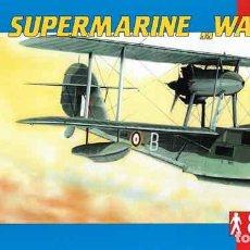 Maquetas: MAQUETA HIDROAVIÓN BRITÁNICO SUPERMARINE WALRUS MK I DE SMER A 1/48. Lote 134002158