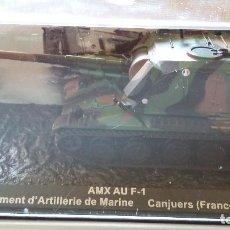 Maquetas: CAÑON AMX AU F1. CARRO DE COMBATE ALTAYA 1/72. Lote 134076630