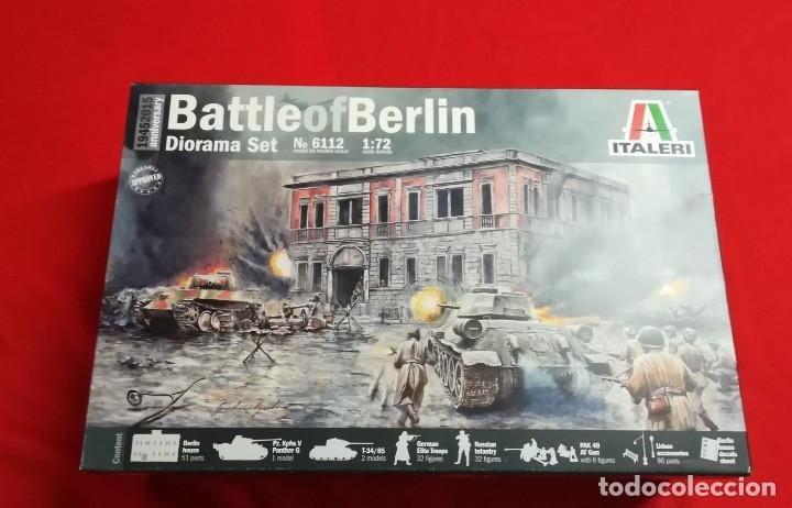 BATALLA DE BERLÍN- ITALERI - 1/72 - REF 6112 (Juguetes - Modelismo y Radiocontrol - Maquetas - Militar)
